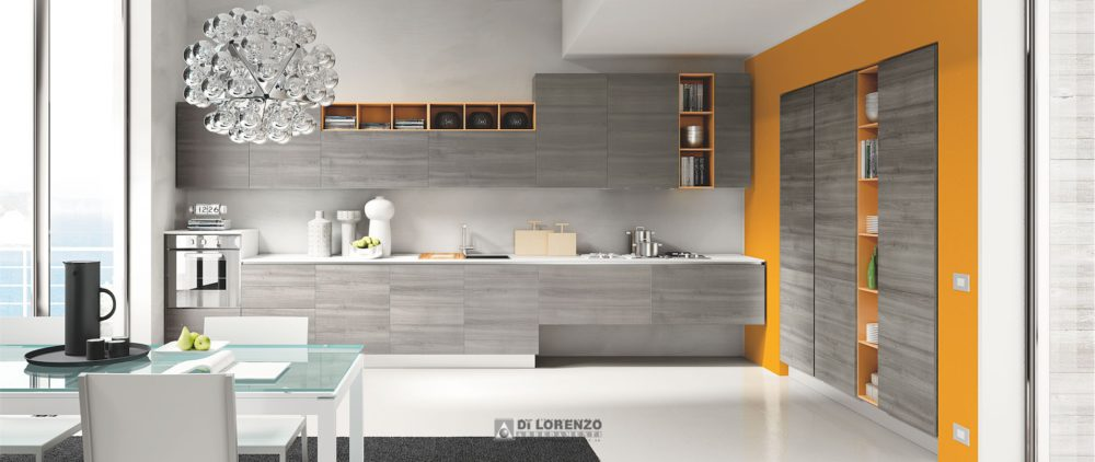 Cucina moderna Oceano | Arredamenti Di Lorenzo Napoli