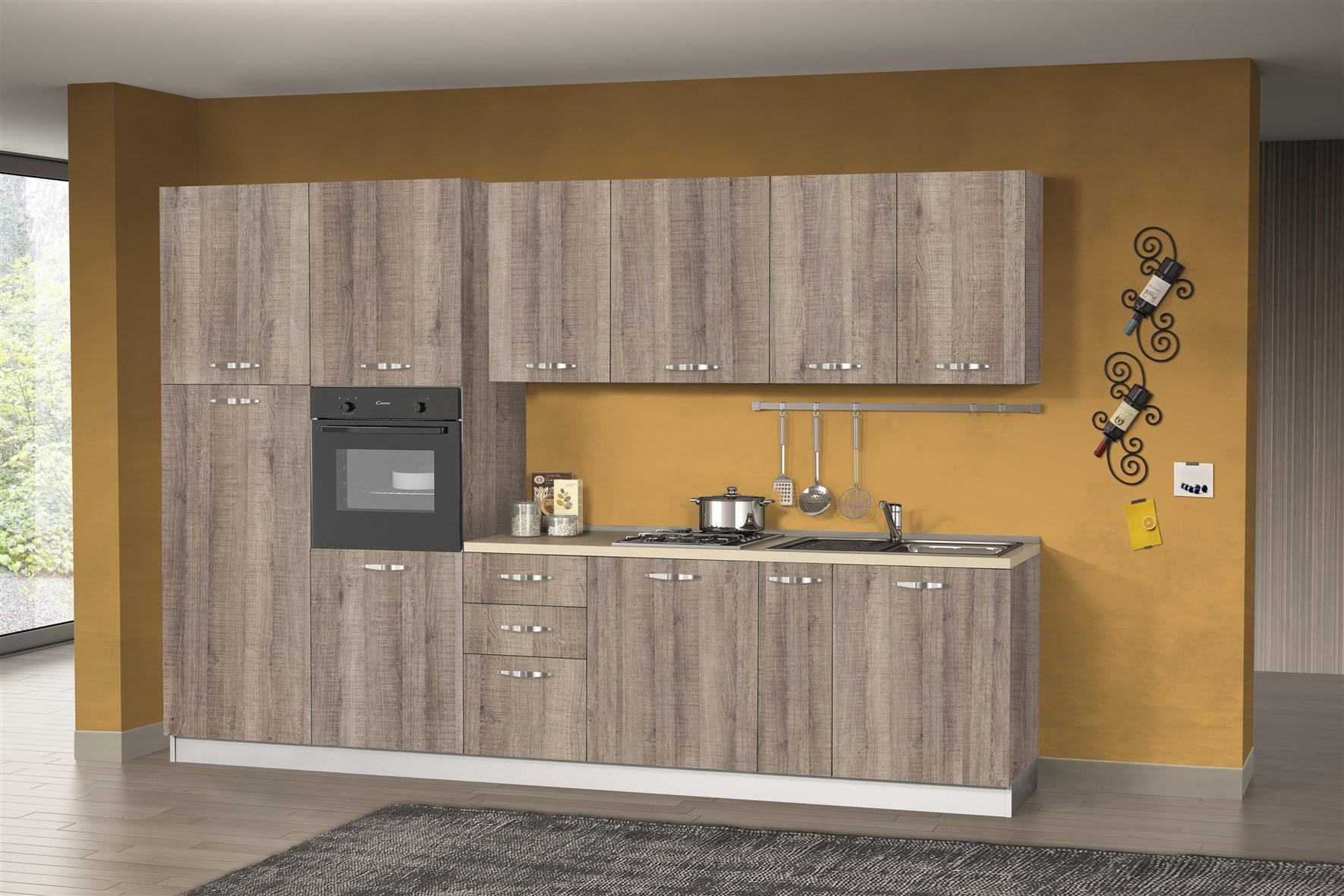 Cucina Nettuno con lavastoviglie | Arredamenti Di Lorenzo Napoli