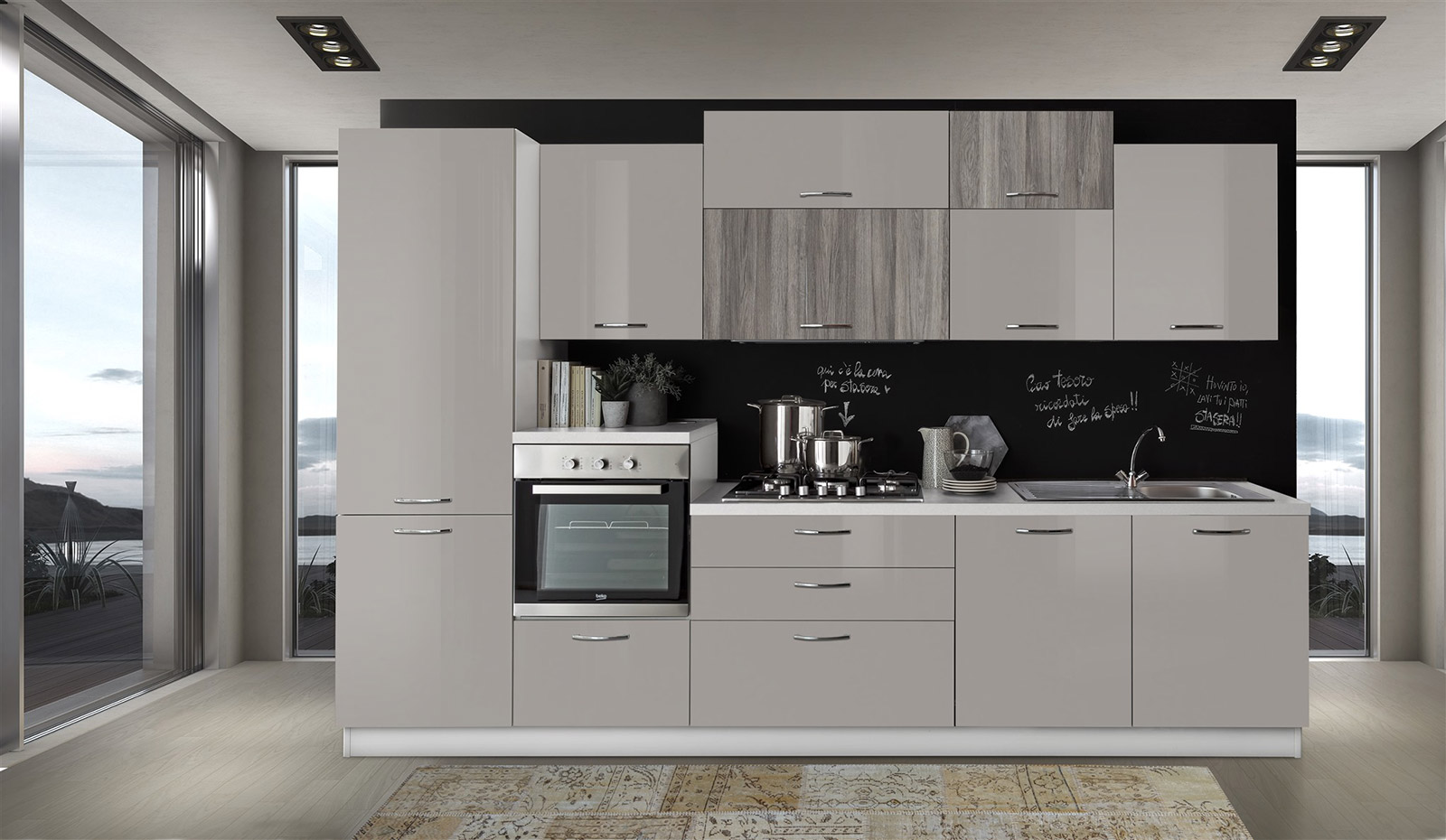 Cucine bloccate cucina astra with cucine bloccate latest for Costo cucina completa