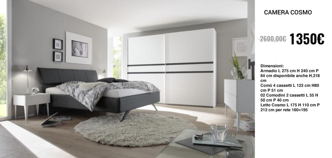 Luxury moderno camera da letto arredamenti di lorenzo napoli for Di lorenzo arredamenti