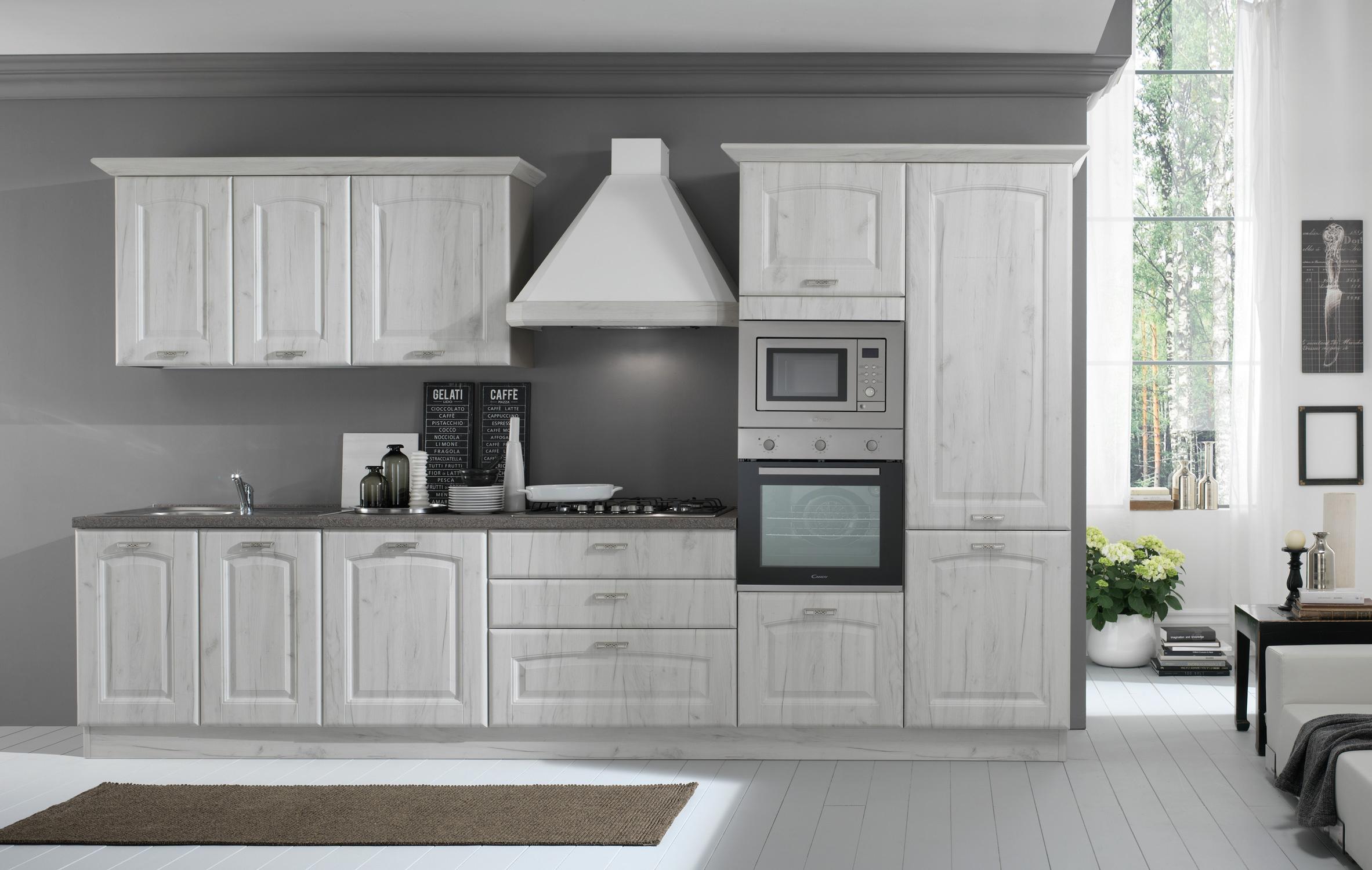 Cucina Sofia con lavastoviglie | Arredamenti Di Lorenzo Napoli