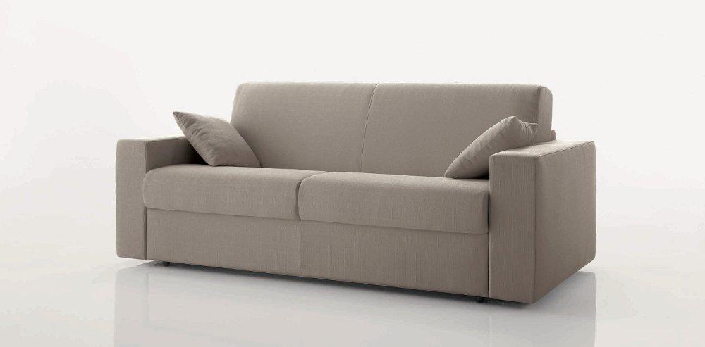 Divano letto aston con materasso altezza 18 arredamenti - Divano letto materasso 18 ...