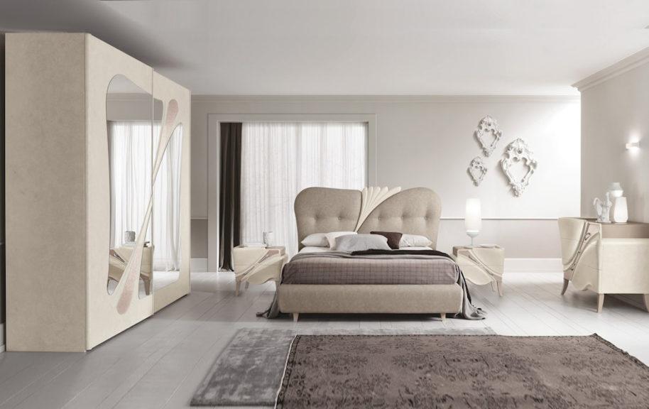 Camere da letto contemporanee arredamenti di lorenzo for Camere da letto moderne marche