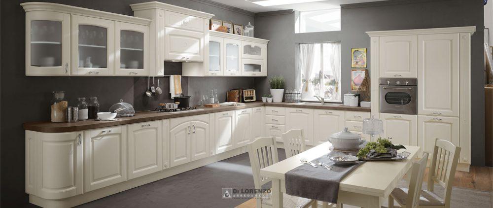 01 cucina elegante classica olimpia arredamenti di for Di lorenzo arredamenti
