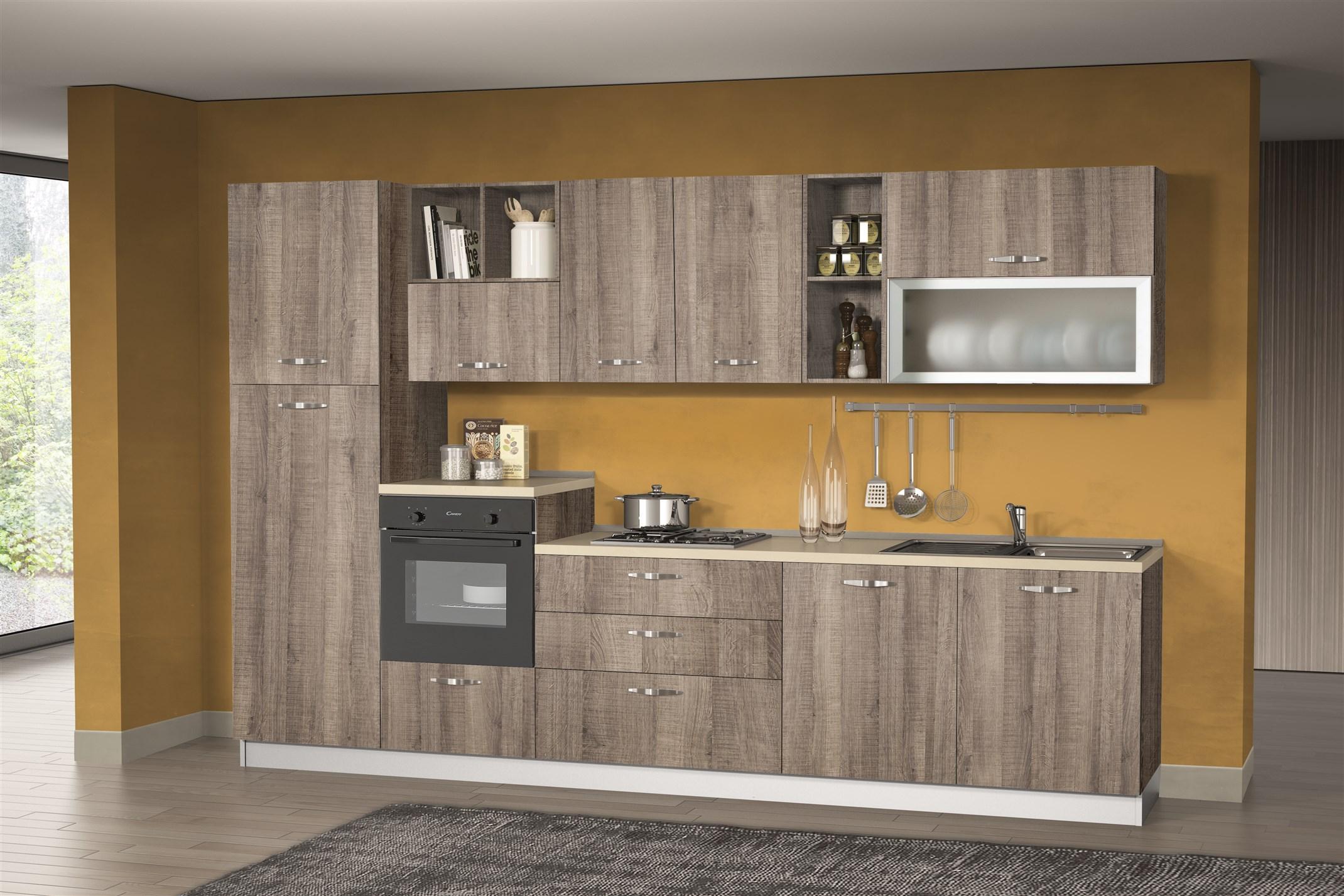 Cucina Antares 330 con lavastoviglie