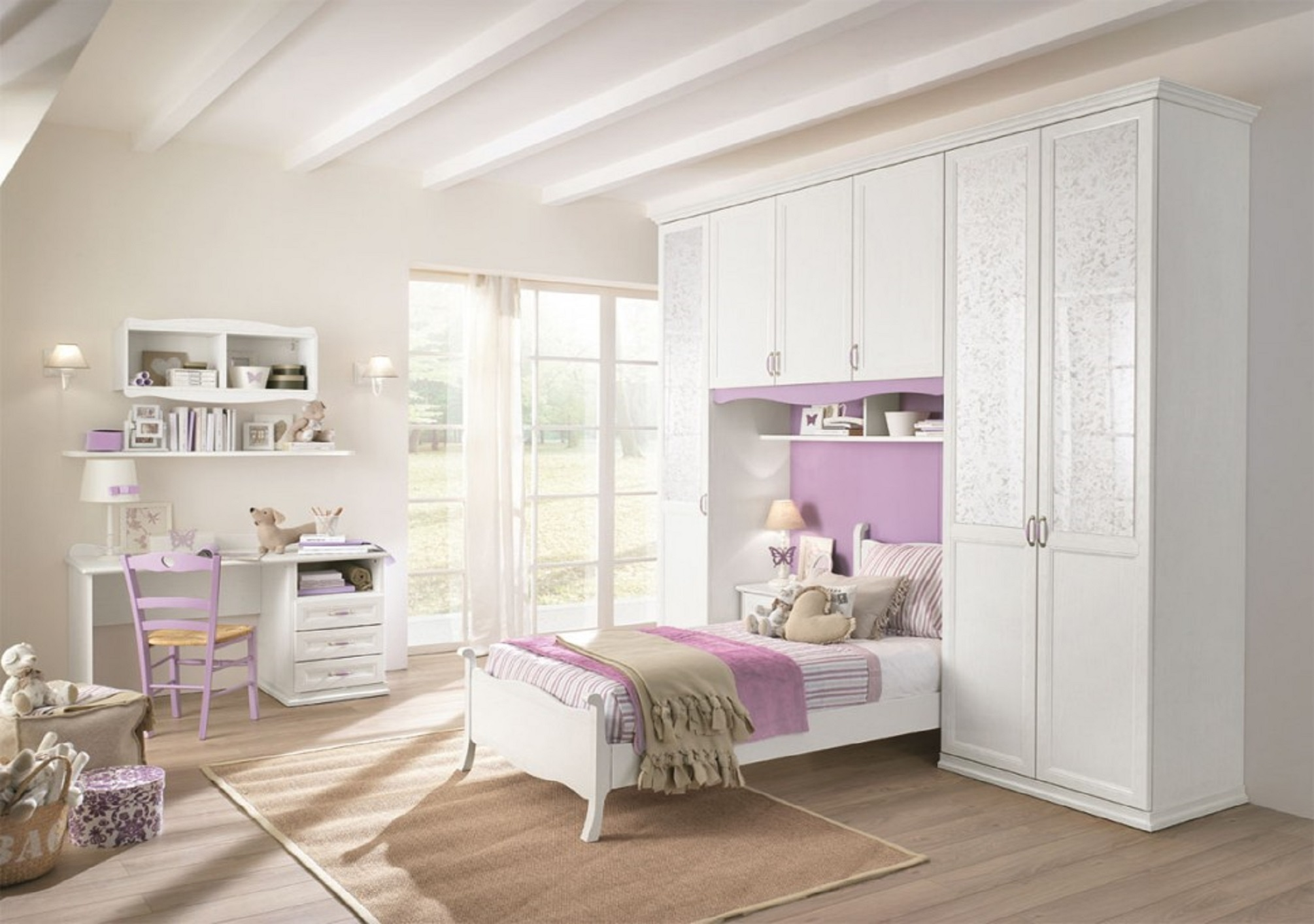 Cameretta-Classica-collezione-Arcadia-7-Camerette-in-legno ...