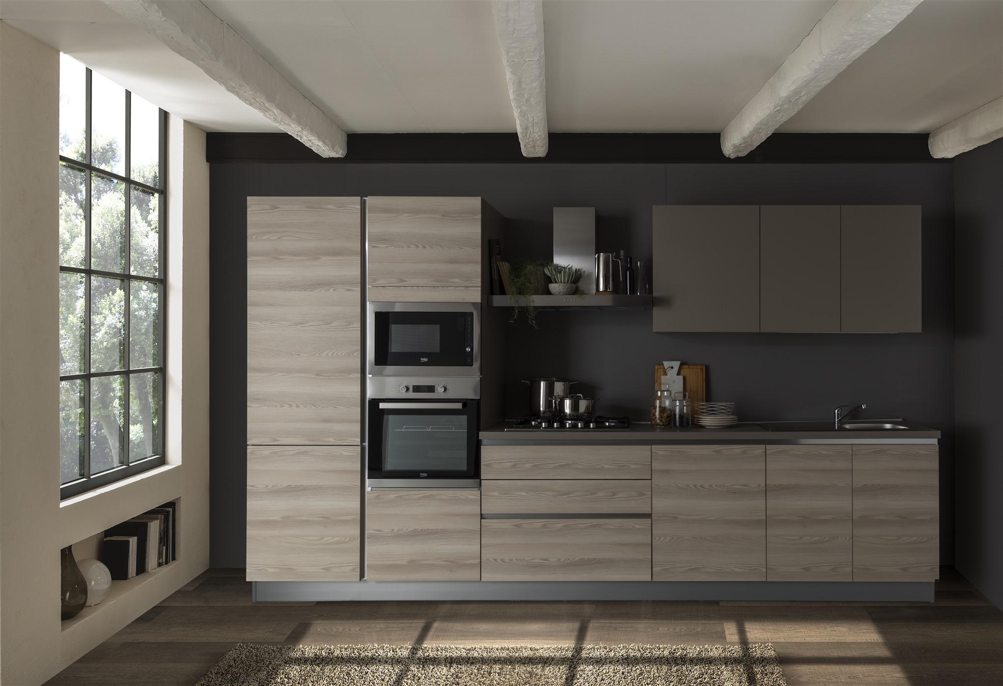 Offerte Cucine Moderne Napoli.Cucina Delizia Micro