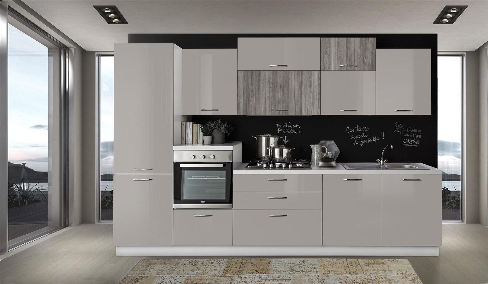 Offerte Cucine Moderne Napoli.Cucina Cloe 330 Con Lavastoviglie