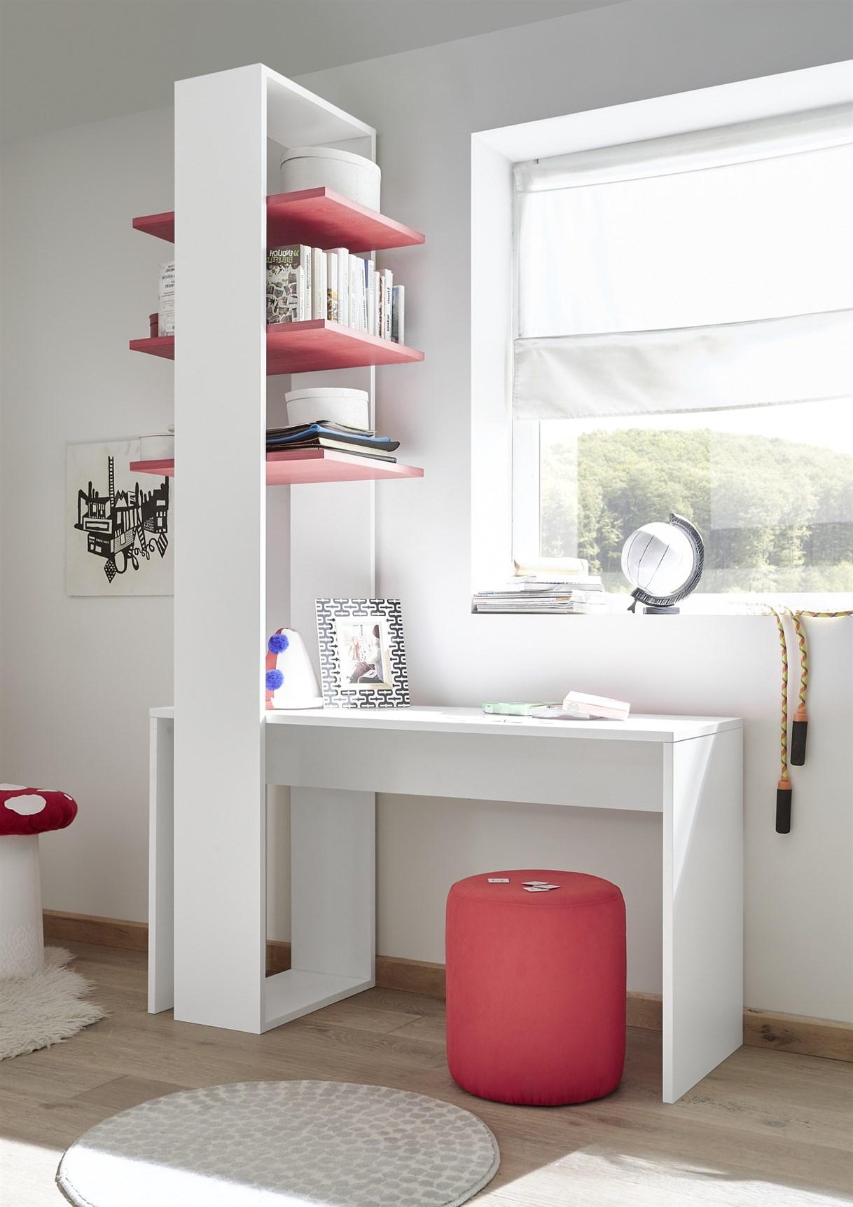Enjoy Milieu 3 Rot Schreibtisch LQ