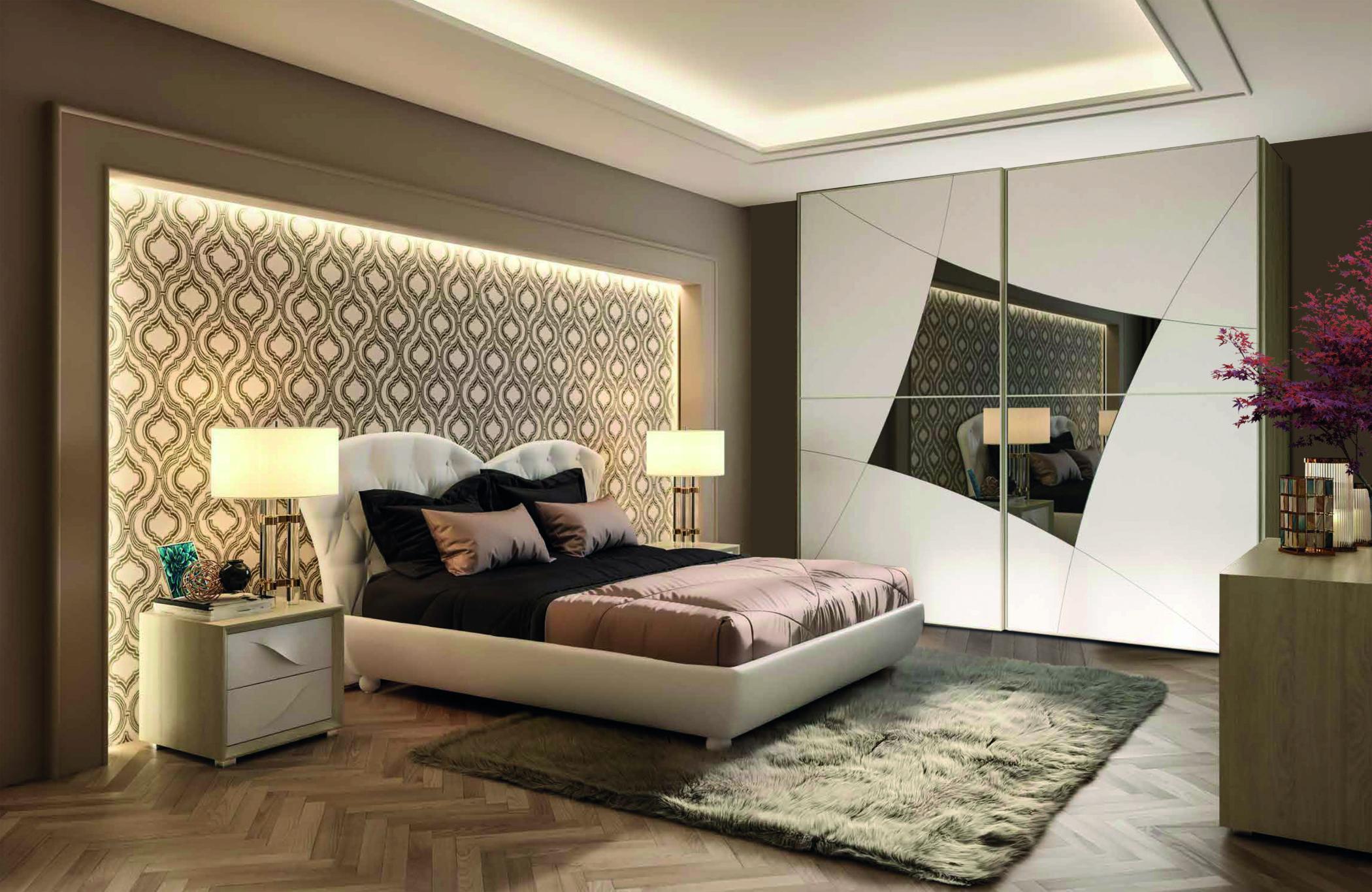 Camere Da Letto Moderne Con Letto Contenitore.Camera Da Letto Vanity Arredamenti Di Lorenzo Napoli
