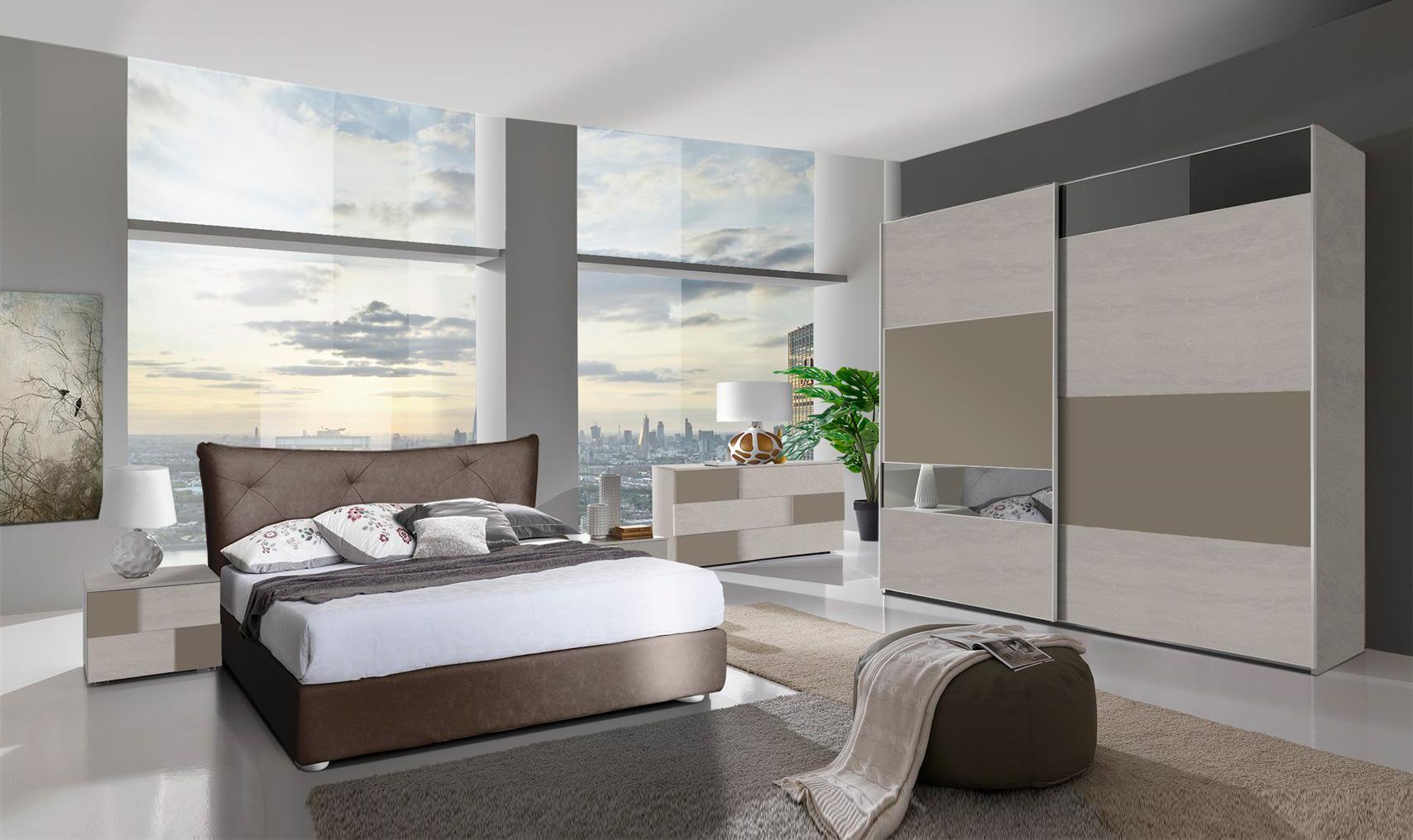 Camera boston con contenitore arredamenti di lorenzo napoli - Costo camere da letto ...