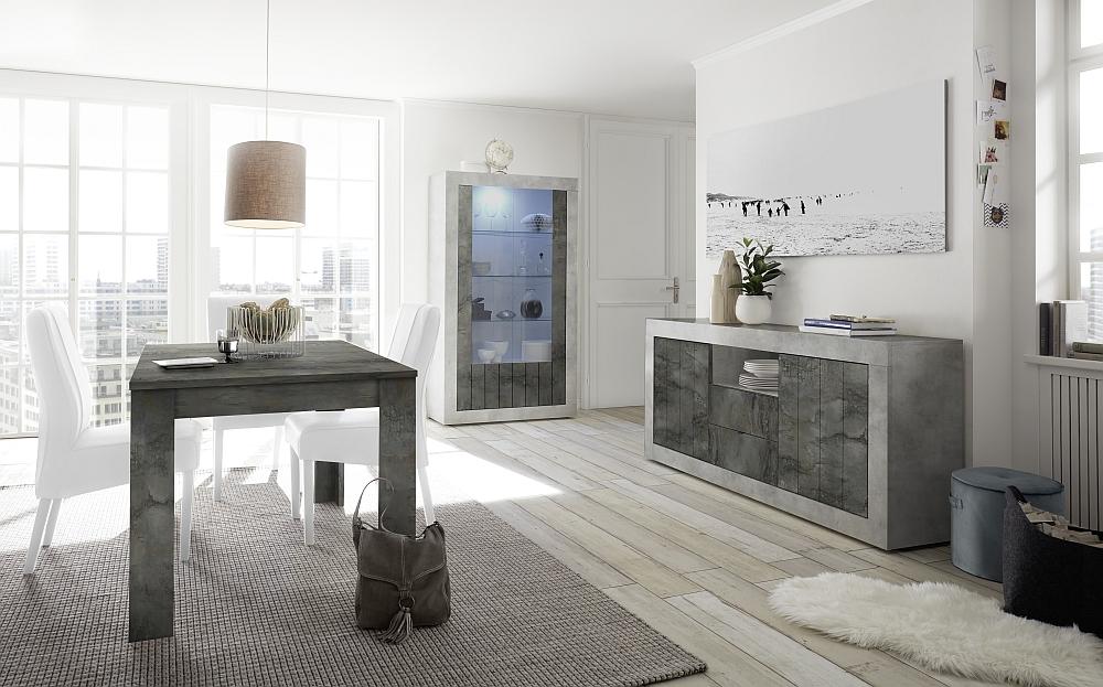 2071_urbino-beton-ossido-speisen-sideboard-2t-2sk-1o-f-vitrine-tisch-137-inkl-ansteckplatte-sthle-weiss