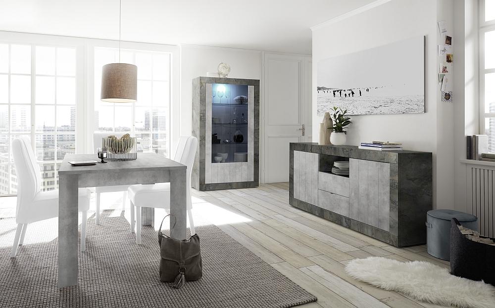2083_urbino-ossido-beton-speisen-sideboard-2t-2sk-1o-f-vitrine-tisch-137-inkl-ansteckplatte-sthle-weiss