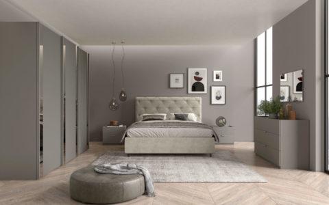 Camera Rigo scorrevole con letto Cross