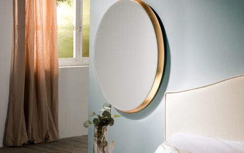 Specchio Aries ovale 54